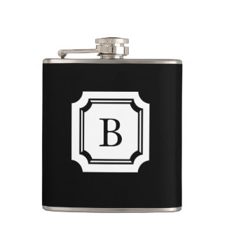 CHIC FLASK_BLACK WITH CLASSIC MONOGRAM FLASKS