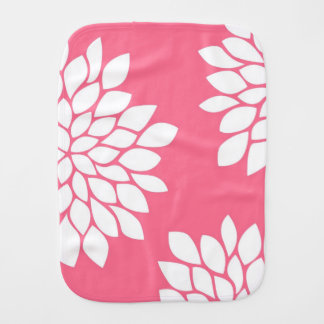 CHIC FLORAL BURP CLOTH