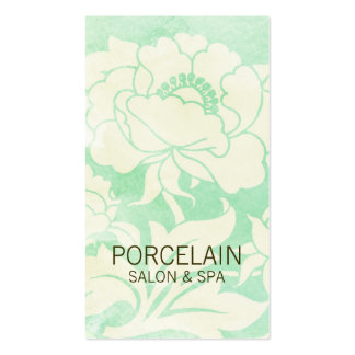 Chic Floral Business Card