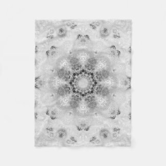 Chic French Damask  Fleece Blanket Small