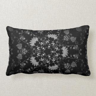 Chic French Damask Polyester Throw Pillow, Lumbar Pillow