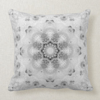 Chic French damask Throw pillow