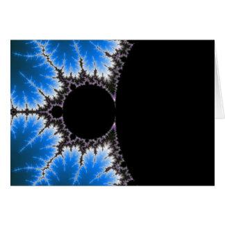 chic geek fractal greeting card Mandelzoom