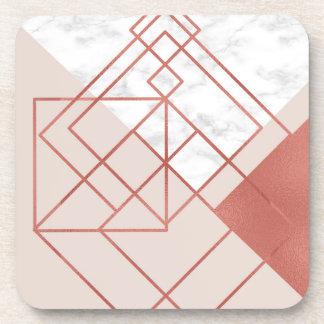 chic geometric coaster
