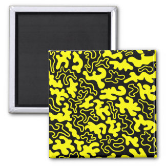"""Chic Germs - Black & Gold"" Magnet"