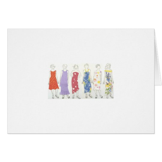 chic girls card
