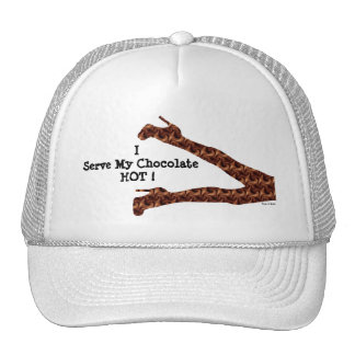 Chic Girly Funny Hot Chocolate / House-of-Grosch Trucker Hat