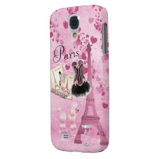Chic Girly Pink Paris Vintage Romance