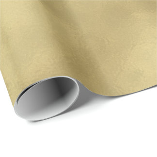 Chic Gold Abstract Wrapping Paper