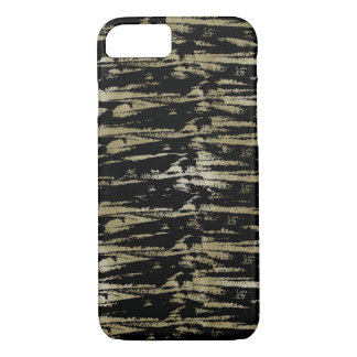 Chic Gold Black Abstract iPhone 8/7 Case