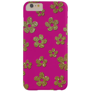 Chic Gold Flowers iPhone 6 Plus Case