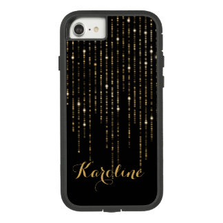 Chic Gold Glitter Light With Name Case-Mate Tough Extreme iPhone 8/7 Case