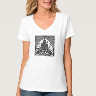 Chic_greyscale d'art déco tee-shirt