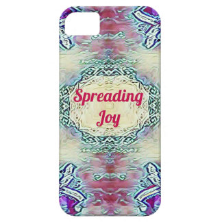 Chic Holiday Season Burgundy Spreading Joy Case For The iPhone 5