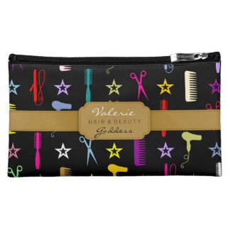 Chic Hues Hair Salon Stylist (Custom) Bag Cosmetic Bags