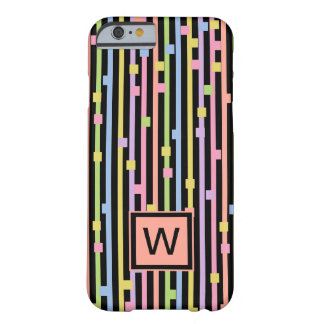CHIC IPHONE6 CASE_PASTEL STRIPES & CONFETTI BARELY THERE iPhone 6 CASE