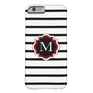 CHIC IPHONE 6 CASE_BLACK/WHITE/RED BARELY THERE iPhone 6 CASE