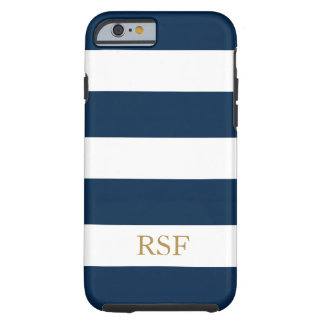 CHIC IPHONE 6 CASE_CLASSIC BLUE/WHITE#2 TOUGH iPhone 6 CASE