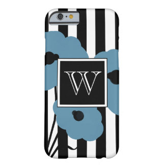 CHIC IPHONE 6 CASE_MOD BLUE POPPIES BARELY THERE iPhone 6 CASE