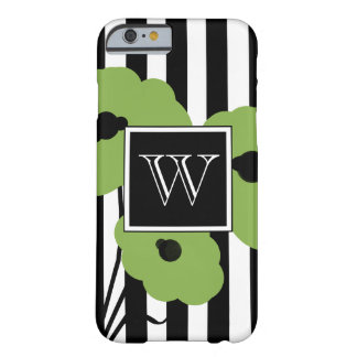 CHIC IPHONE 6 CASE_MOD GREEN POPPIES BARELY THERE iPhone 6 CASE