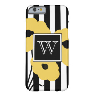 CHIC IPHONE 6 CASE_MOD YELLOW POPPIES BARELY THERE iPhone 6 CASE