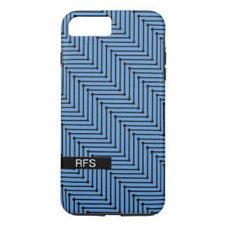 CHIC IPHONE 7 PLUS CASE_COOL, MODERN ZIGZAG DESIGN iPhone 8 PLUS/7 PLUS CASE