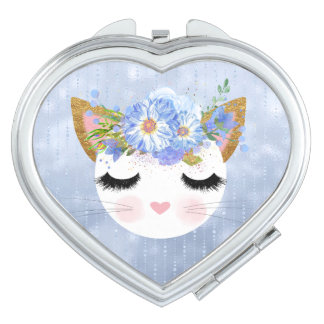 Chic Kitty Compact Mirror