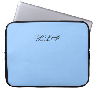 CHIC LAPTOP SLEEVE-SOLID 153 BLUE LAPTOP SLEEVE