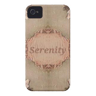 Chic Light Tan Peach Modern Serenity iPhone 4 Cover