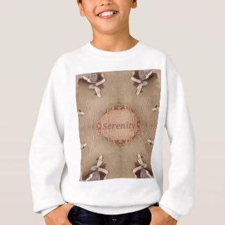 Chic Light Tan Peach Modern Serenity Sweatshirt