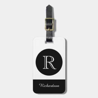 CHIC LUGGAGE TAG_CHOOSE YOUR OWN BACKGROUND COLOR LUGGAGE TAG