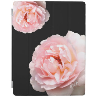 Chic Modern Floral Black iPad 2/3/4 Smart Cover iPad Cover