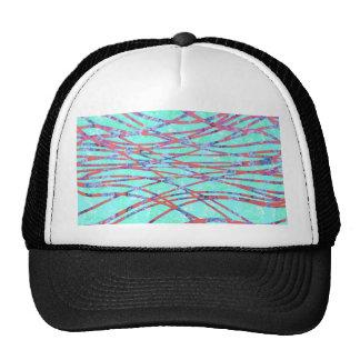 Chic Modern Floral Zebra Style Trendy Pattern Hats