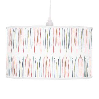 Chic Modern Minimalist Stripes Pendant Lamp