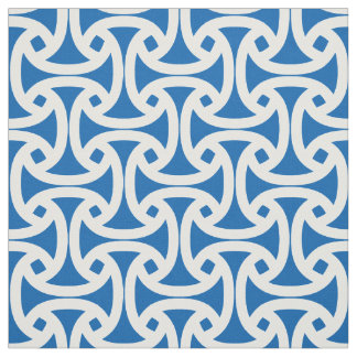 Chic, Modern Pattern - Wellfleet - Blue Fabric