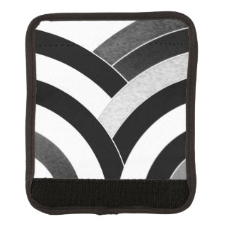 chic modern sophisticated chevron luggage handle wrap