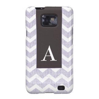 Chic Monogram Chevron Phone Cover Samsung Galaxy SII Cases