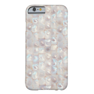 Chic Mother of Pearl Elegant Mosaic Pattern Barely There iPhone 6 Case