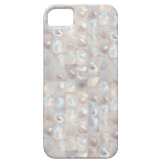 Chic Mother of Pearl Elegant Mosaic Pattern iPhone 5 Covers