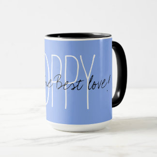 "CHIC MUG_""POPPY GIVES THE BEST LOVE!"" MUG"
