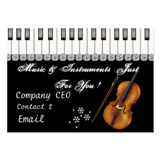 CHIC MUSICIAN Business Card