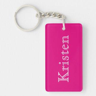 Chic Name Keychain