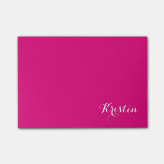 Chic Name Post-it Notes