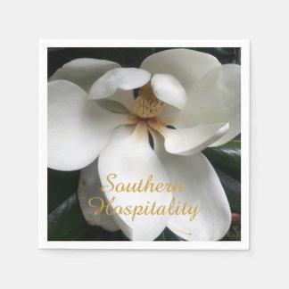 "CHIC PAPER NAPKIN_""Southern Hospitality""_MAGNOLIA Disposable Napkin"