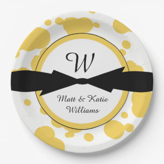CHIC PAPER PLATE_ MODERN PARTY PLATE