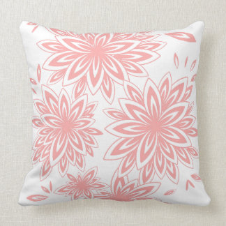 CHIC PILLOW_04 BLUSH PINK/WHITE FLORAL THROW PILLOW