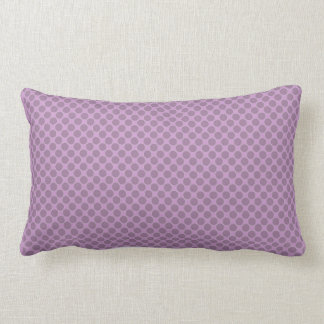 chic pillow,RADIANT ORCHID 2-TONE DOTS Lumbar Pillow