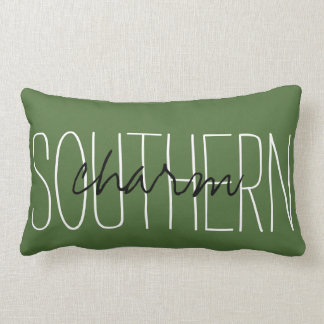 "CHIC PILLOW_""SOUTHERN CHARM"" LUMBAR PILLOW"
