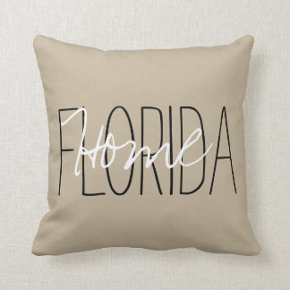 "CHIC PILLOW-""STATE""  HOME_DIY THROW PILLOW"
