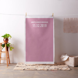 Chic Pink Diy Wedding Photo Booth Backdrop